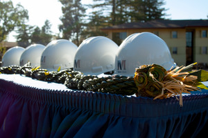 Coverage of the Groundbreaking Ceremony for the New Residence Hall
