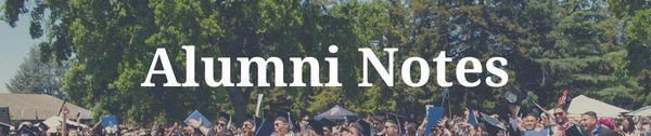 Alumni Notes