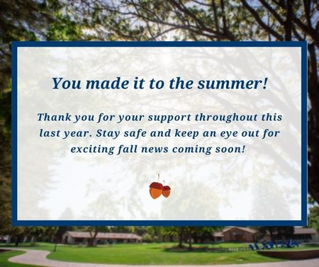 You made it to summer!
